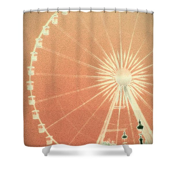 Memories Of Springtime In Paris Shower Curtain