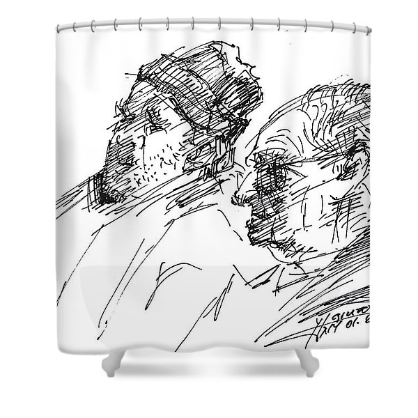 Men Shower Curtain