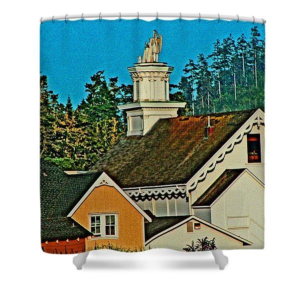 Mendocino California Shower Curtain