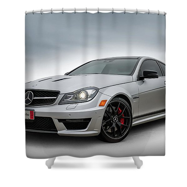 Mercedes Benz Amg C63 Edition 507 Shower Curtain