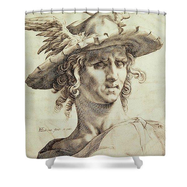 Mercury Shower Curtain