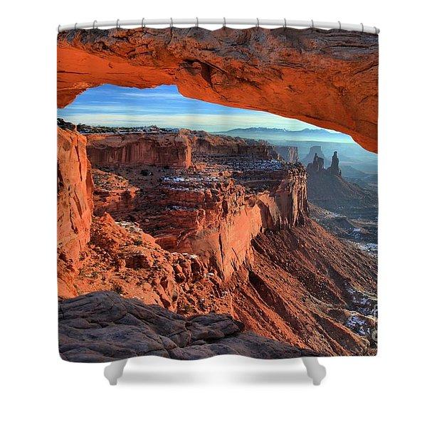 Mesa Arch Frame Shower Curtain