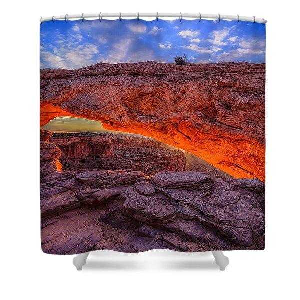 Mesa Arch Glow Shower Curtain