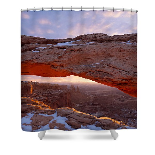 Mesa Glow Shower Curtain