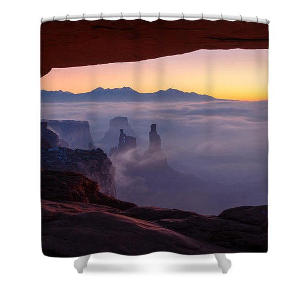 Mesa Mist Shower Curtain