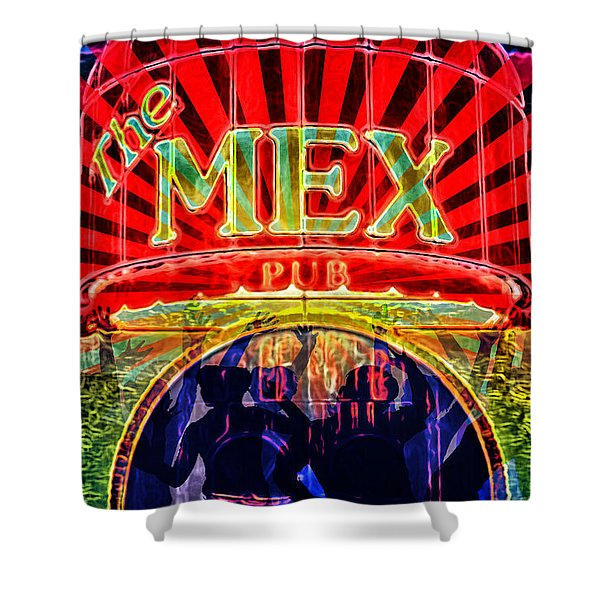 Mex Party Shower Curtain