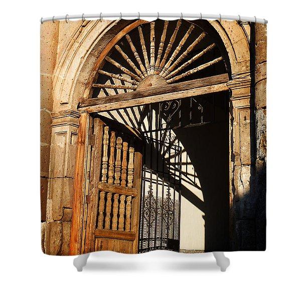 Mexican Door 27 Shower Curtain