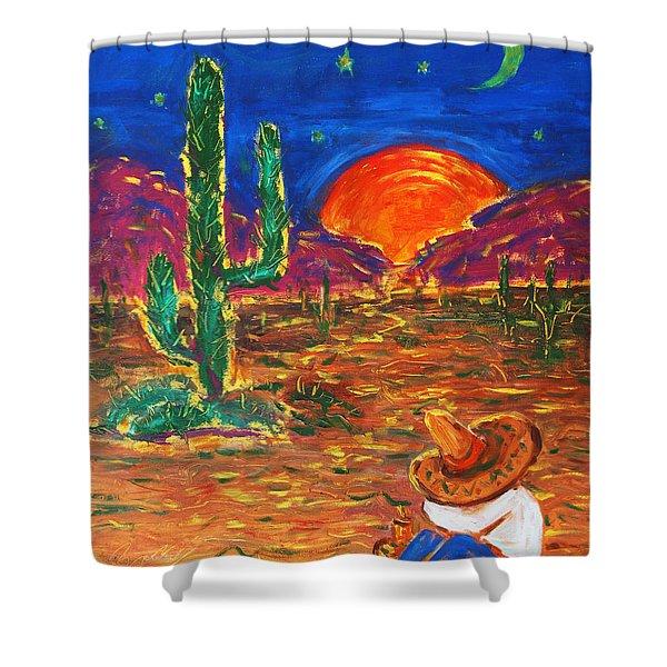 Mexico Impression IIi Shower Curtain
