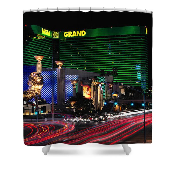 Mgm Grand Hotel And Casino Shower Curtain
