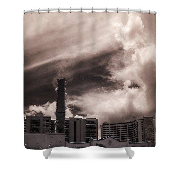 Miami Beach Sky Shower Curtain
