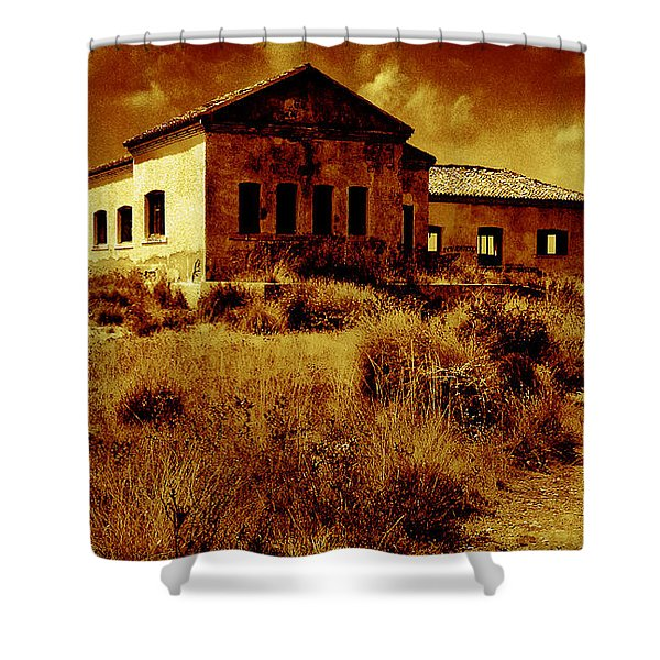 Midday Sanctuary Shower Curtain