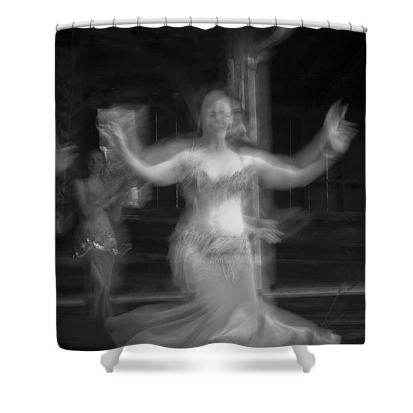 Mideastern Dancing 7 Shower Curtain