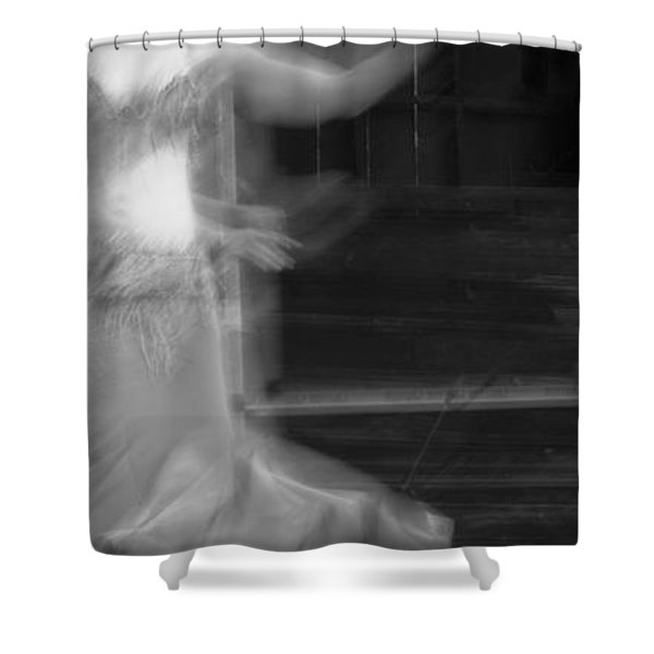 Shower Curtain featuring the photograph Mideastern Dancing 7 by Catherine Sobredo
