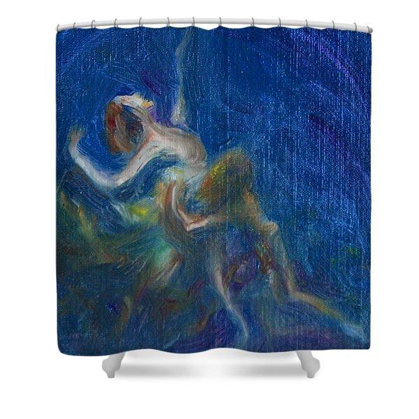 Midsummer Nights Dream Shower Curtain