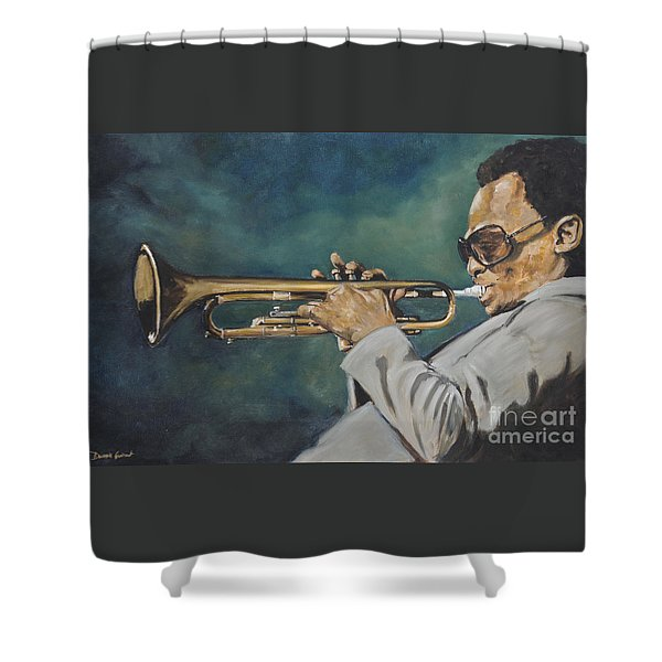 Miles Davis - Solo Shower Curtain
