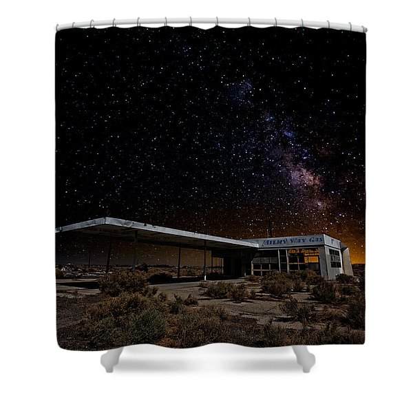 Milky Way Gas Shower Curtain