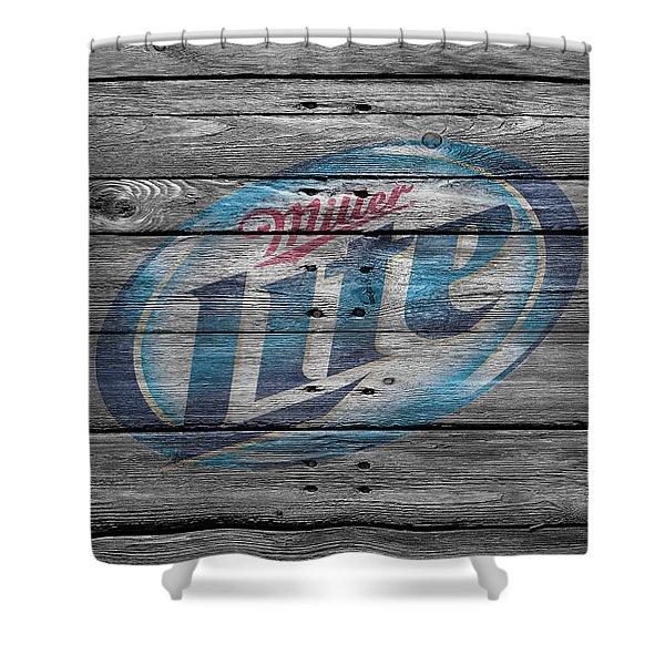Miller Lite Shower Curtain