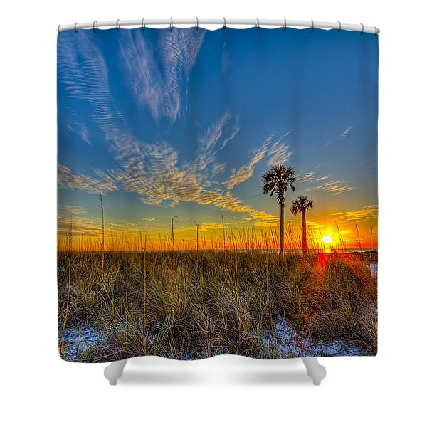 Miller Time Shower Curtain