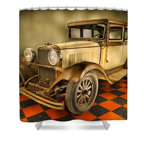 Millers Chop Shop 1929 Dodge Victory Six Before Shower Curtain