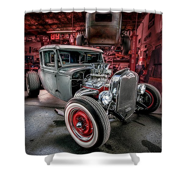 Millers Chop Shop 1931 Ford Coupe Shower Curtain