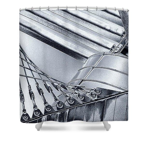 Milwaukee Art Shower Curtain