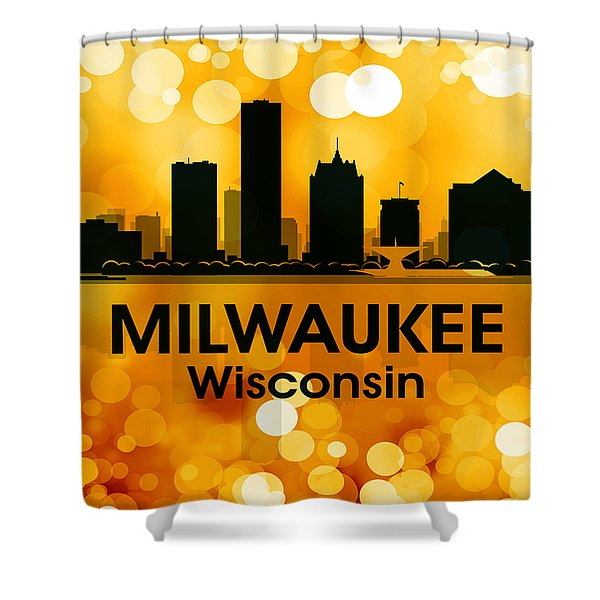 Milwaukee Wi 3 Shower Curtain