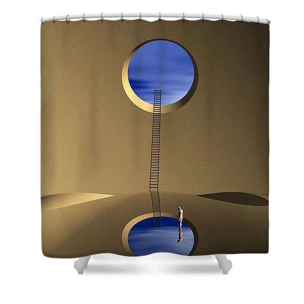 Mind Well Shower Curtain