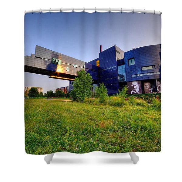 Minneapolis Guthrie Theater Summer Evening Shower Curtain