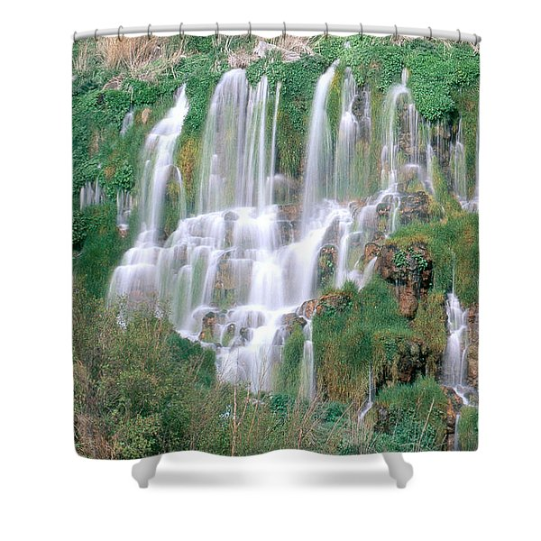 Minnie Miller Springs, Idaho Shower Curtain