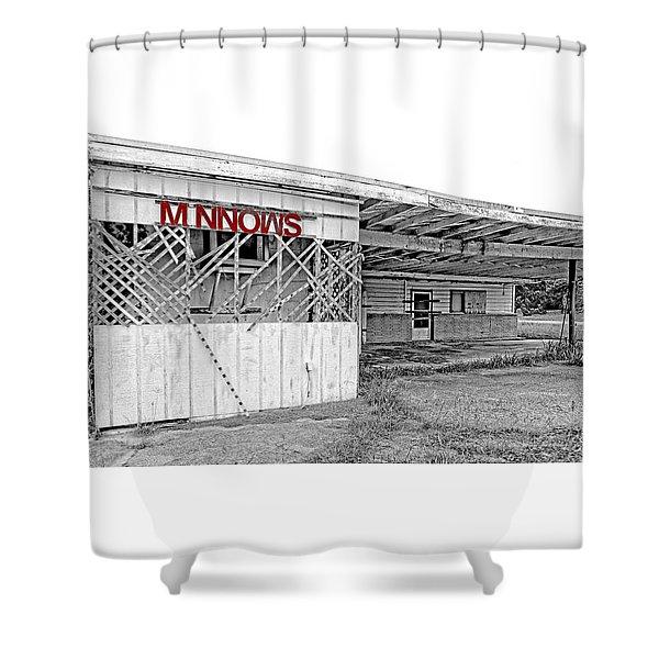 Minnow Shack Shower Curtain