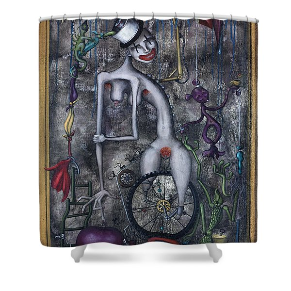 Miss Millies Greatest Show On Earth Shower Curtain
