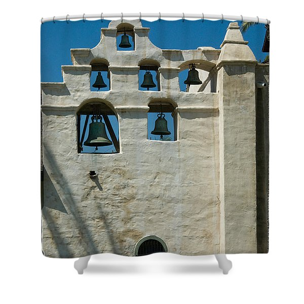 Mission San Gabriel Arcangel Shower Curtain