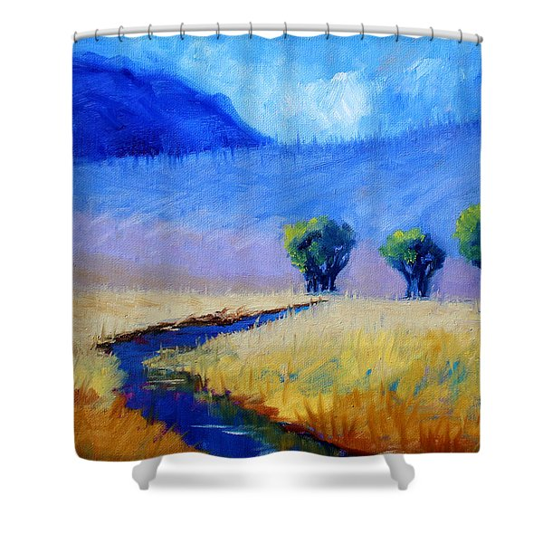 Mist In The Mountains Shower Curtain
