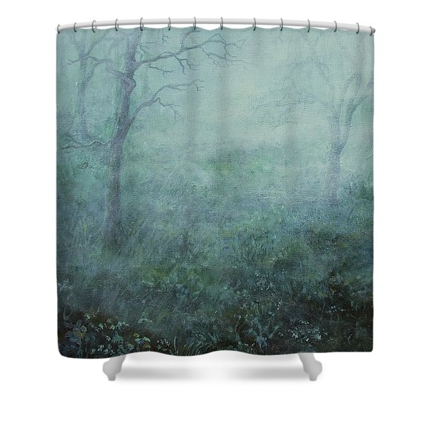 Mist On The Meadow Shower Curtain