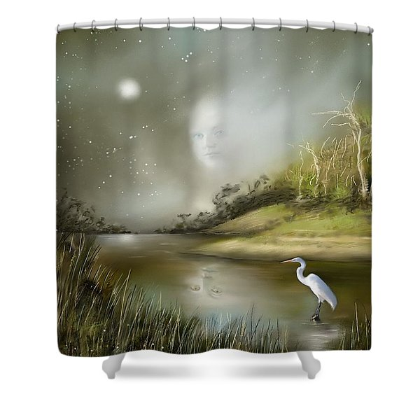 Mistress Of The Glade Shower Curtain