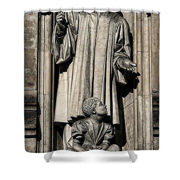 Mlk Memorial Shower Curtain