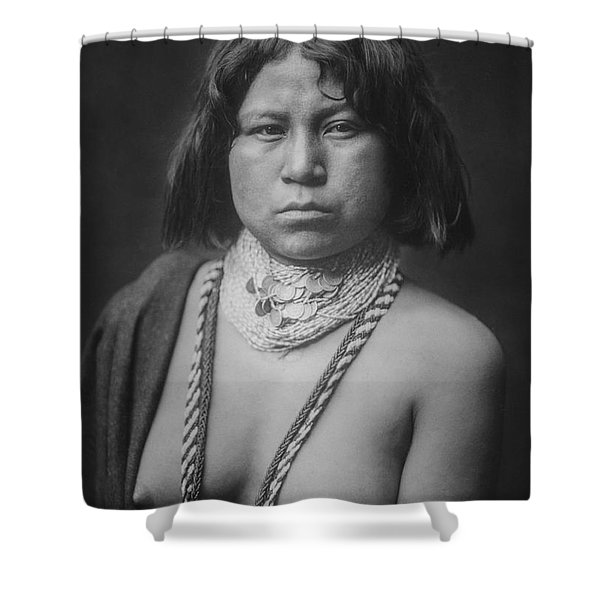 Mohave Woman Circa 1903 Shower Curtain