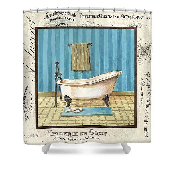 Monique Bath 1 Shower Curtain