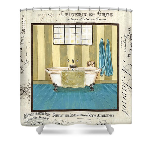 Monique Bath 2 Shower Curtain
