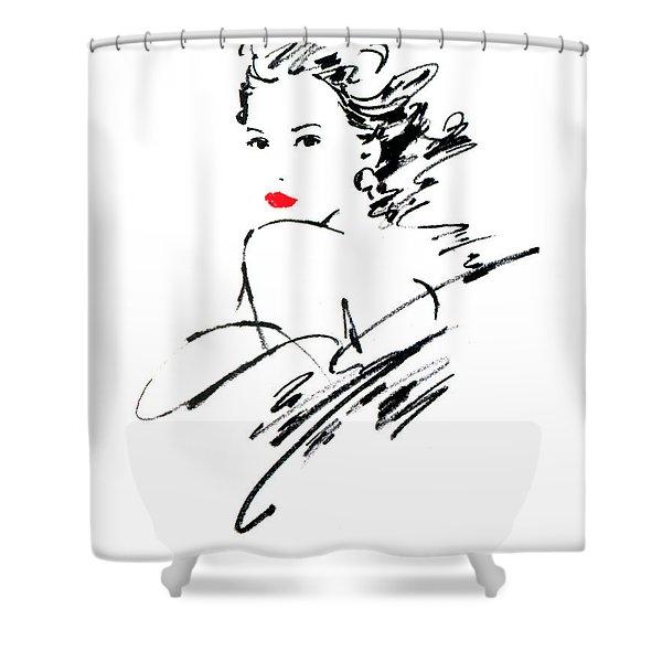 Monique Variant 1 Shower Curtain