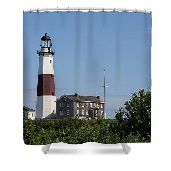 Montauk Point Lighthouse I Shower Curtain