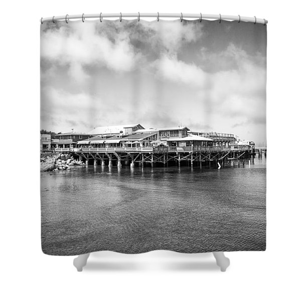 Monterey Old Fisherman's Wharf Shower Curtain