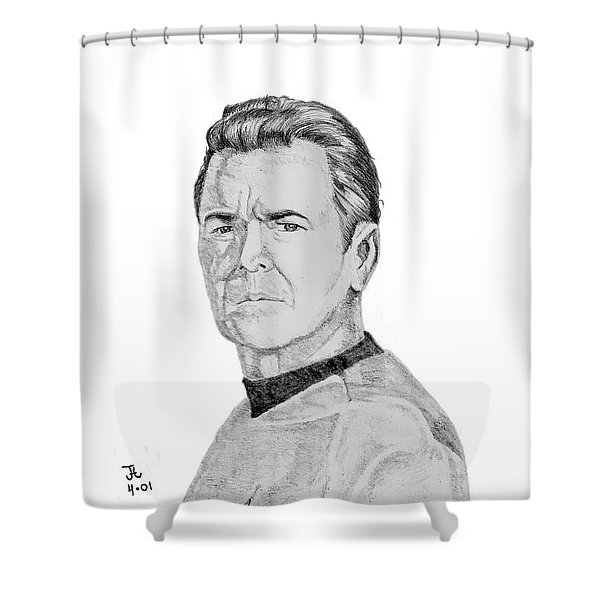 Montgomery Scott Shower Curtain