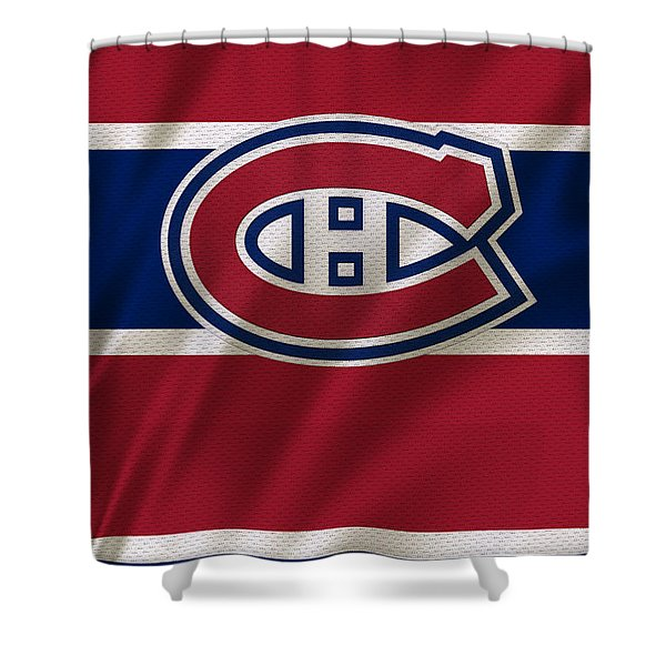 Montreal Canadiens Uniform Shower Curtain