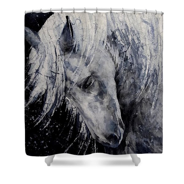 Moody Blues Shower Curtain