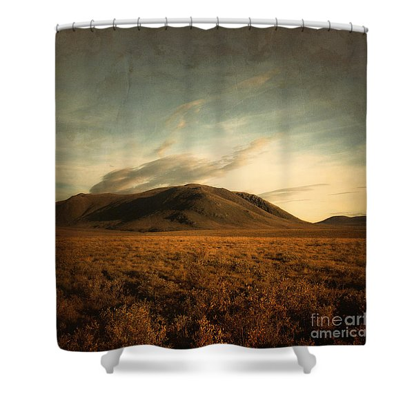 Moody Hills Shower Curtain