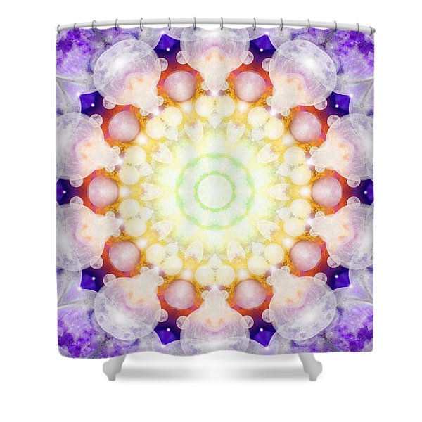 Moonstar Beta Shower Curtain