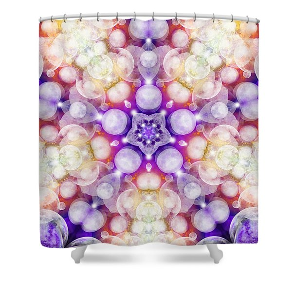Moonstar Delta Shower Curtain