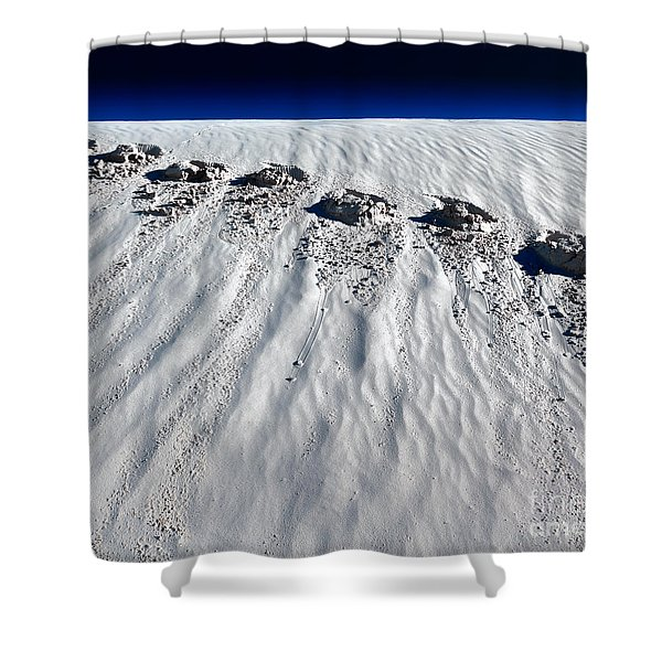 Moonwalking Shower Curtain