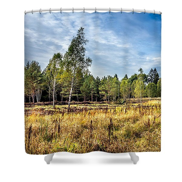 Wetlands In The Black Forest Shower Curtain